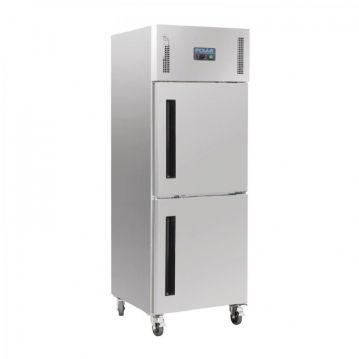 Polar Upright Stable Door Gastro Fridge 600Ltr